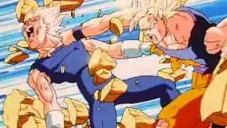 vuclip Goku vs Vegeta (Heretic Anthem)