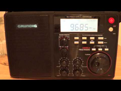 International radio Serbia on 9685 khz 0030 UT english Grundig S450DLX