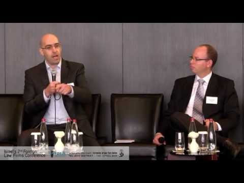 Dr. Ido Baum- Israel's Legal Market - Where do we go from here - Israel's 2nd foreign law firms