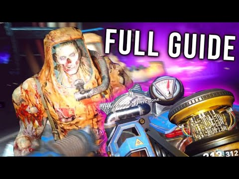 COLD WAR ZOMBIES - FULL DIE MASCHINE EASTER EGG GUIDE TUTORIAL!