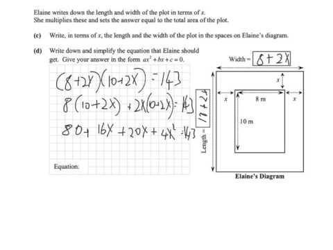 Junior Cert Maths Paper 1 -  Solving Algebra Word Problems | Tutorial