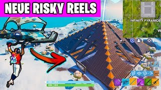 Die INFINITY PYRAMIDE - Das neue Risky Reels für The Block | Fortnite Season 7 Deutsch