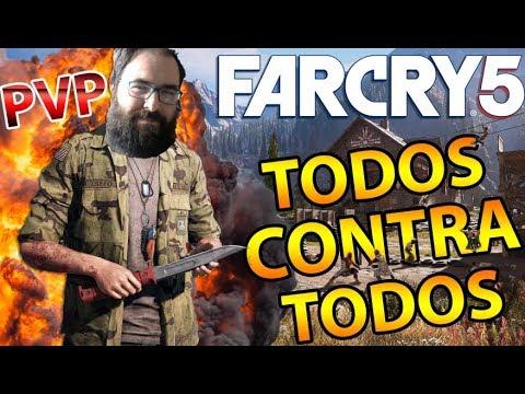 DEATH MATCH! TODOS CONTRA TODOS!! PVP FAR CRY 5 thumbnail