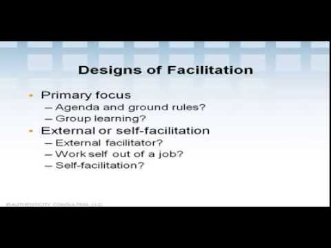 Facilitation in Action Learning Groups (3 of 6)
