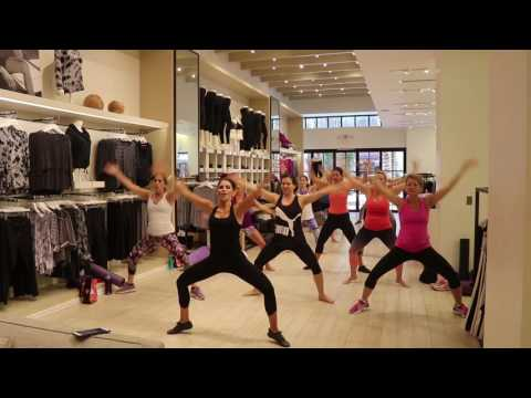 Lifestyle Jules Full Ballet Barre Class at Calvin Klein Performance 8/2016