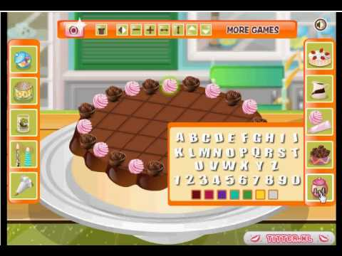Mi tarte de cumpleanos juegos de cocina youtube - Juegos de cocina con sara paella ...