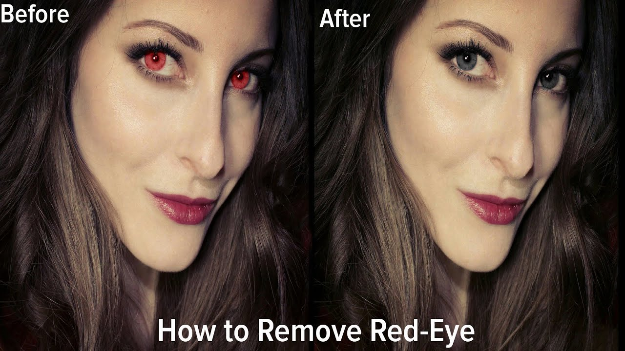 picsart how to remove red eye youtube