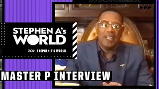Master P on sons committing to play college basketball and rules behind Overtime Elite League