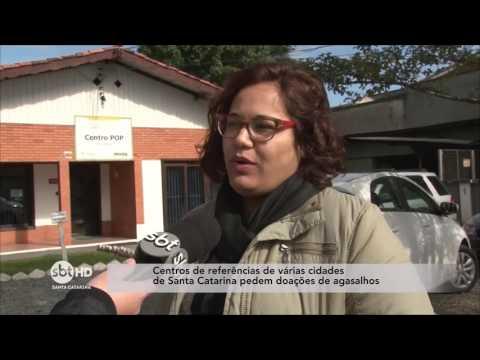 Centro POP de Blumenau pede doações de agasalhos