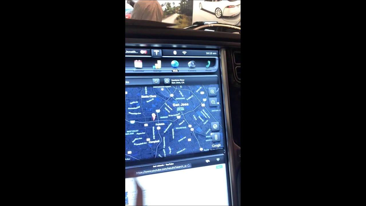 tesla model s бортовой компьютер