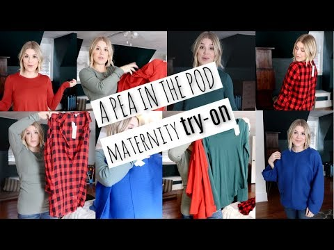A PEA IN THE POD || MATERNITY TRY-ON HAUL || HUGE SALE