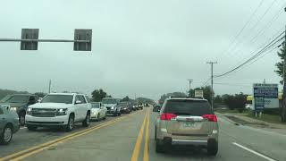 Rainy Drive to Southfield from Detroit