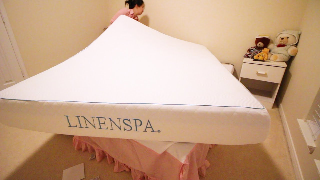 LinenSpa Memory Foam 10 Inch Mattress - Best Value Memory ...