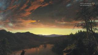 Twilight wilderness by By The american painter Frederic Edwin Church