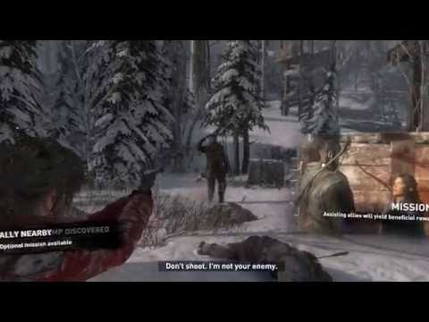 Rise Of The Tomb Raider Gameplay on i7 920 quad Gtx 660 (High Quality)