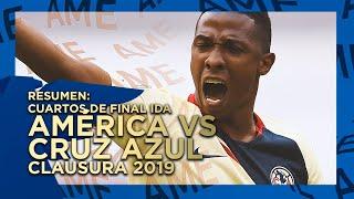 Resumen: América 3-1 Cruz Azul - Cuartos De Final Ida | Clausura 2019