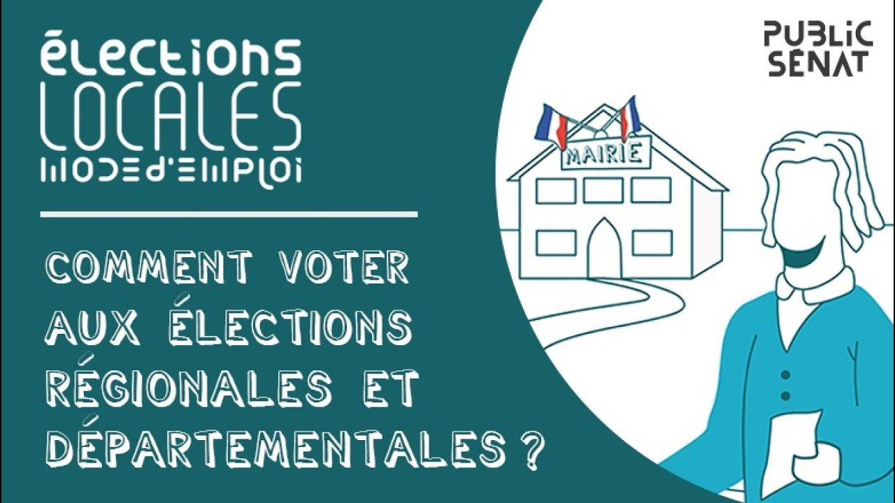Comment Voter Aux Elections Regionales Et Departementales Youtube