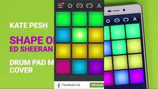 Como Tocar o toque da Música de Ed Sheeran no Drum pad machine?
