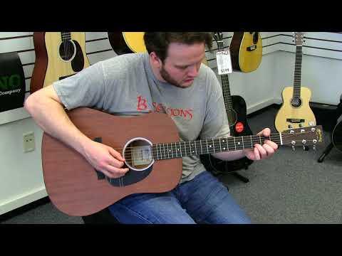 Martin D 10E Guitar Demo