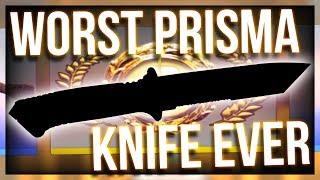 WORST PRISMA KNIFE UNBOXING EVER