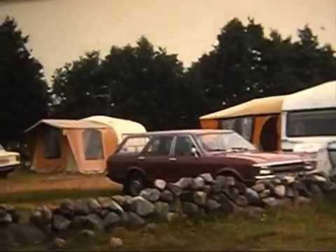 Husvagn semester på Öland 1978