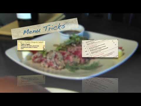 Sneaky menu tricks to get you to spend more