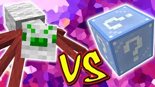 ARANHA DO NATAL VS  LUCKY BLOCK NATAL (MINECRAFT LUCKY BLOCK CHALLENGE CHRISTMAS SPIDER)