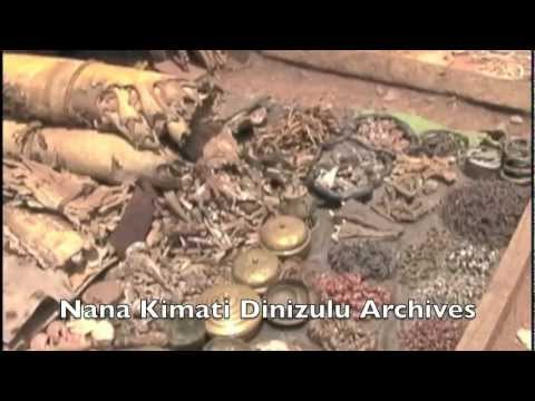 Kumasi Central Market - Ghana, West Africa - Conversations - Hausa Herbal Merchants