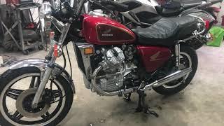 1979 Honda CX500 Custom frame up recondition