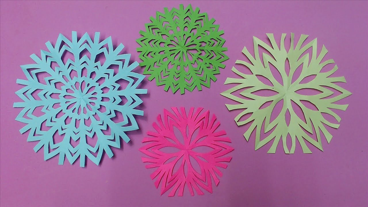 How To Make Beautiful Flower With Color Paper Diy Paper Flowers