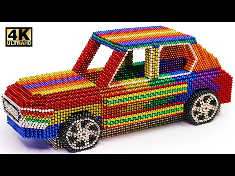 DIY - How To Make Ford Electric SUV From Magnetic Balls (Satisfying) | Magnet World Series