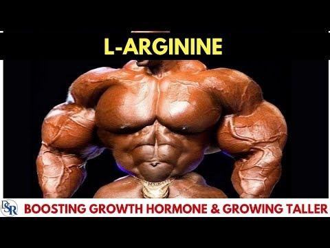 💪 L-Arginine - Boosting Growth Hormone (GH) & Growing Taller - by Dr Sam  Robbins
