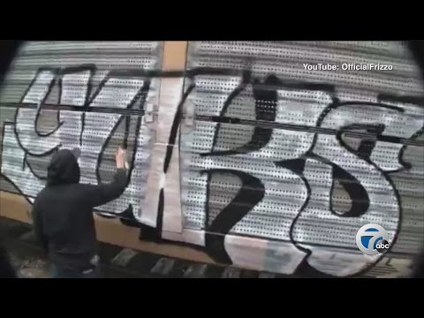Cracking down on graffiti taggers who are painting the city