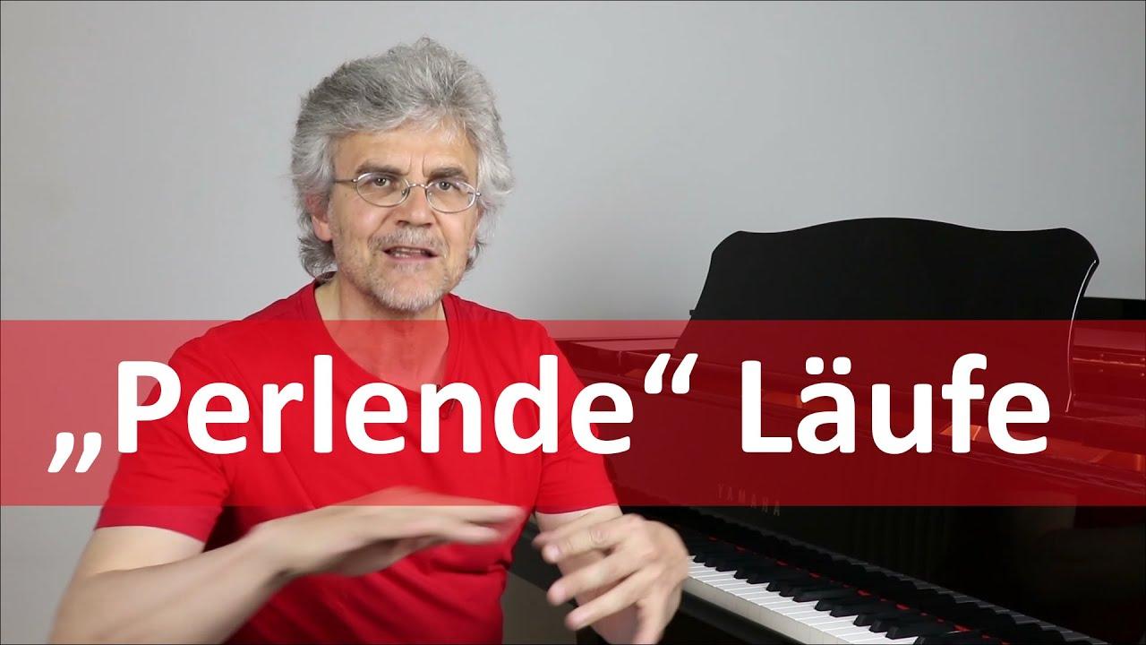 """""""Perlende"""" Läufe – So lernst du schnelle Tonleitern am Klavier!"""
