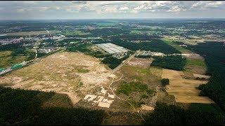 Teren budowy nowej elektrowni w Ostrołęce