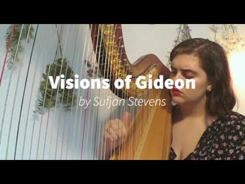 Visions of Gideon Harp Cover | Hannah Harpist Sufjan Stevens Cover