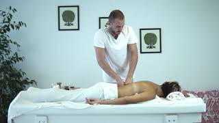 Deep Tissue Back Massage - Derin Doku Sırt Masajı