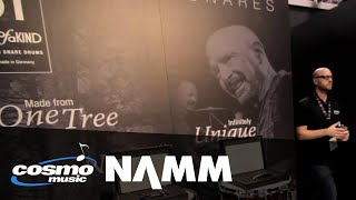 Cosmo Music At NAMM 2015 - Sonor One Of A Kind Snare Drums
