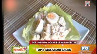 Top 10 Pinoy noche buena favorites
