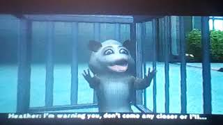 Over the Hedge PS2 Level 6 Tv projector