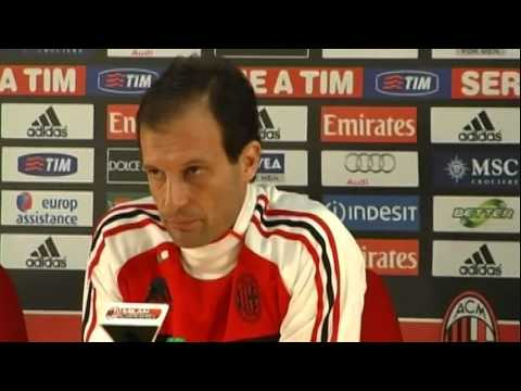 Allegri: 'I'm a very lucky coach'