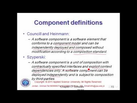 Component based Software Engineering module 1 By Eman Saleh AlMaghary