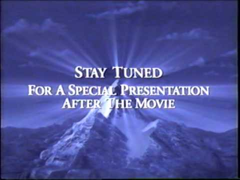 Paramount – Stay Tuned For a Special Presentation (2003) Company Logo (VHS Capture)