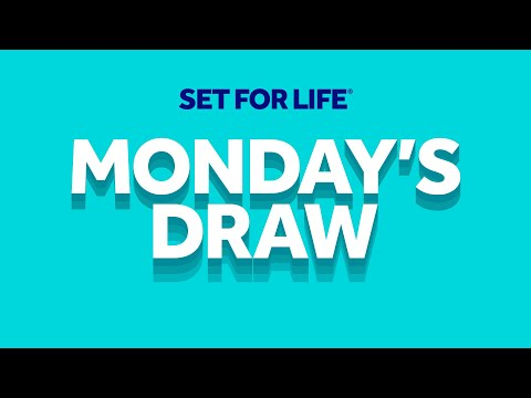 The National Lottery 'Set For Life' Draw Results From Monday 13th January 2020