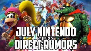 RUMOR - Nintendo Direct for July... With King K Rool and Dixie Kong for Smash Bros Ultimate!?