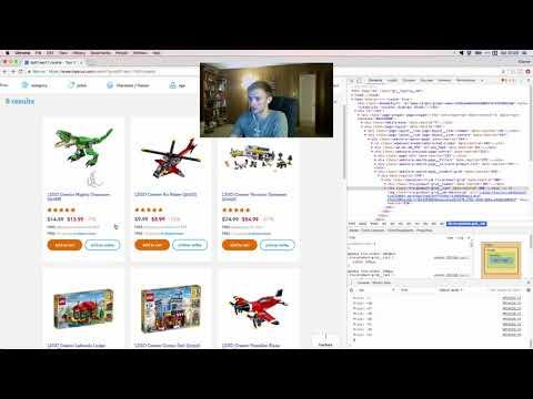 ToysRUs 2017 Labor Day Deals | Javascript Web Scraping