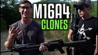Lucas Botkin and Garand Thumb on M16A4 Clones