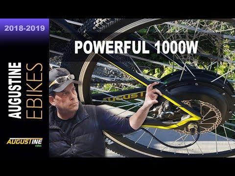 40 MPH + 1000w e-bike conversion kit, super fast