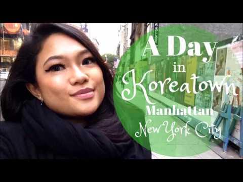 A Day in Koreatown, Manhattan, New York City - Travel Vlog