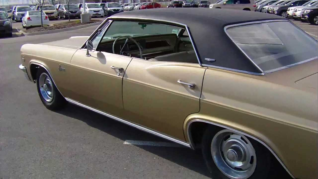 1966 Chevy Caprice 327 V 8 Start Up And Walk Around Youtube